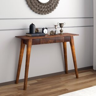 Spurlock Solid Wood Console Table by Millwood Pines