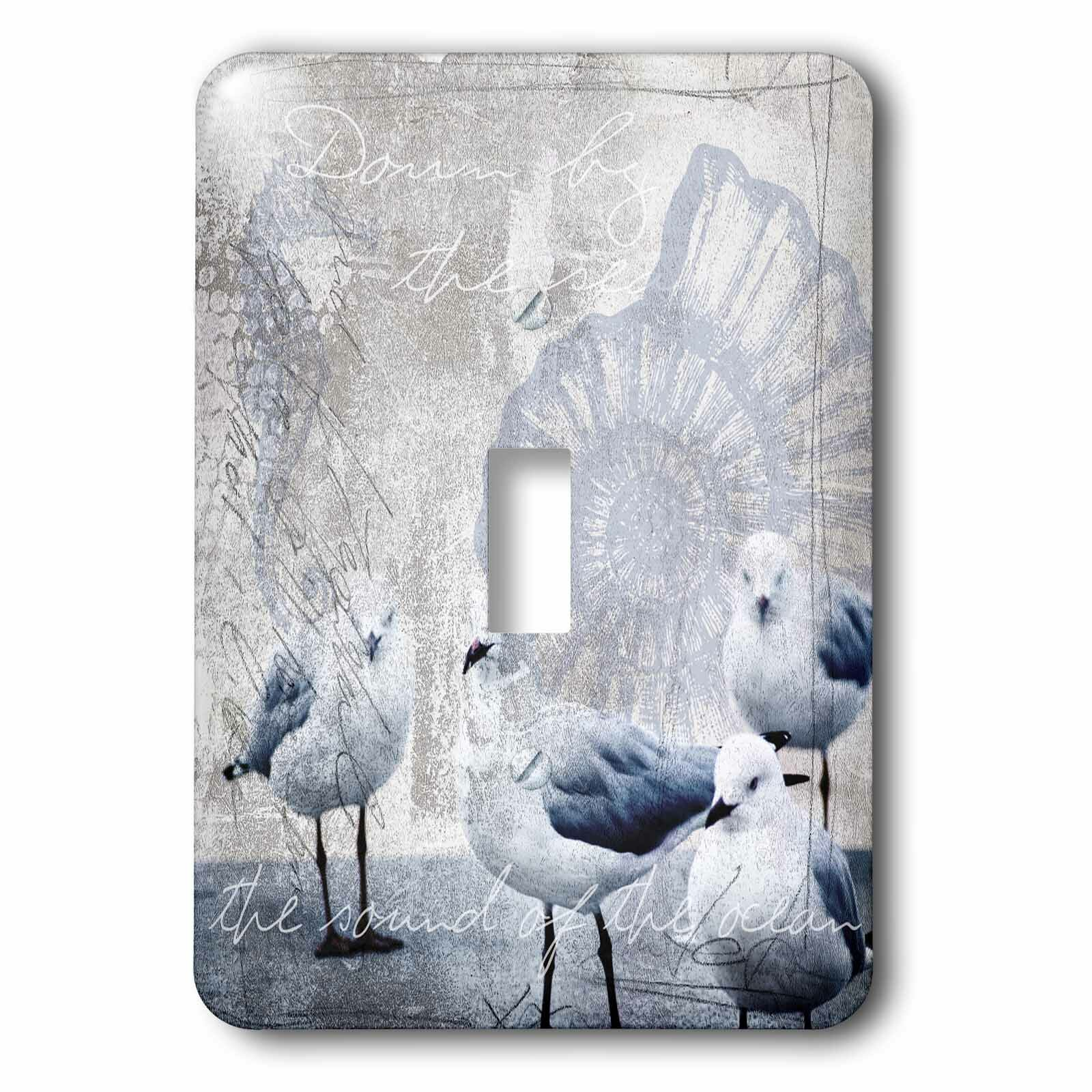 3drose Sea Gulls 1 Gang Toggle Light Switch Wall Plate Wayfair