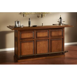 Kokomo Bar with Wine Storage by American Heritage