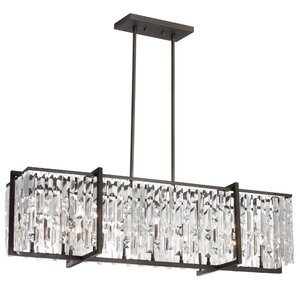 Faunia 9-Light 60W Kitchen Island Pendant