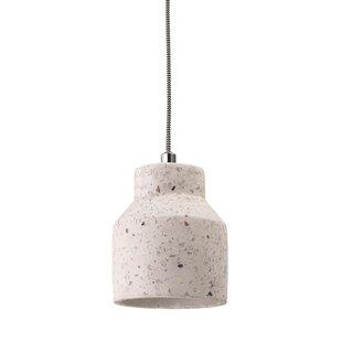Bednarek Concrete 1-Light Bell Pendant by Trent Austin Design