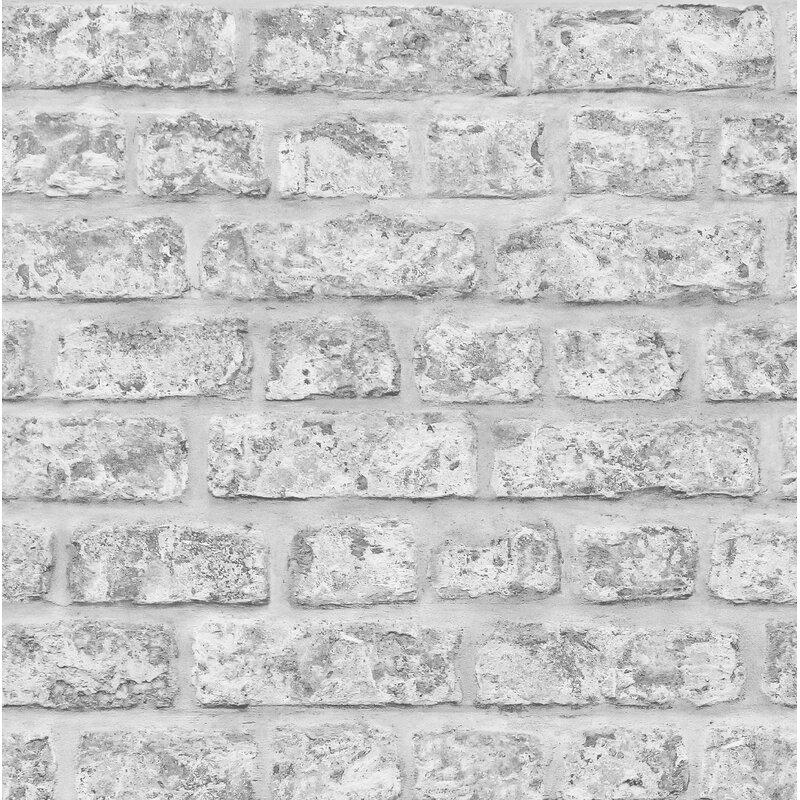 Arthouse Rustic Brick 21 X 395 Texture Wallpaper Roll Wayfair