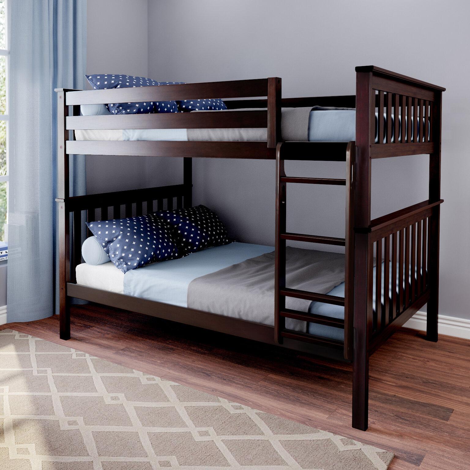 Harriet Bee Bolles Full Over Full Solid Wood Standard Bunk Bed By Harriet Bee Reviews Wayfair