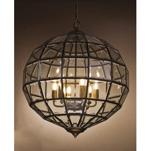 Find for Samara 4-Light Globe Chandelier By Charlton Home