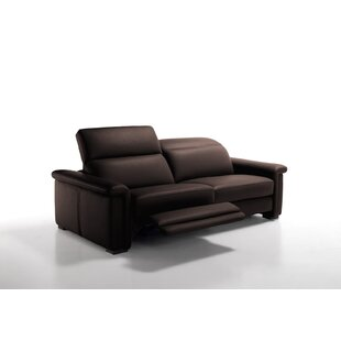 Lawrie Genuine Leather Reclining Sofa By 17 Stories