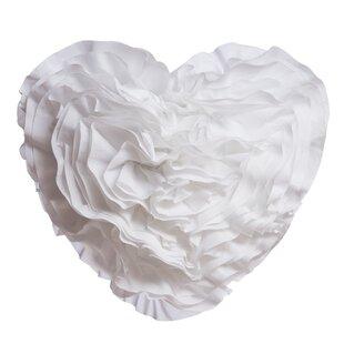 Garnell Puff Hanging Heart Throw Pillow