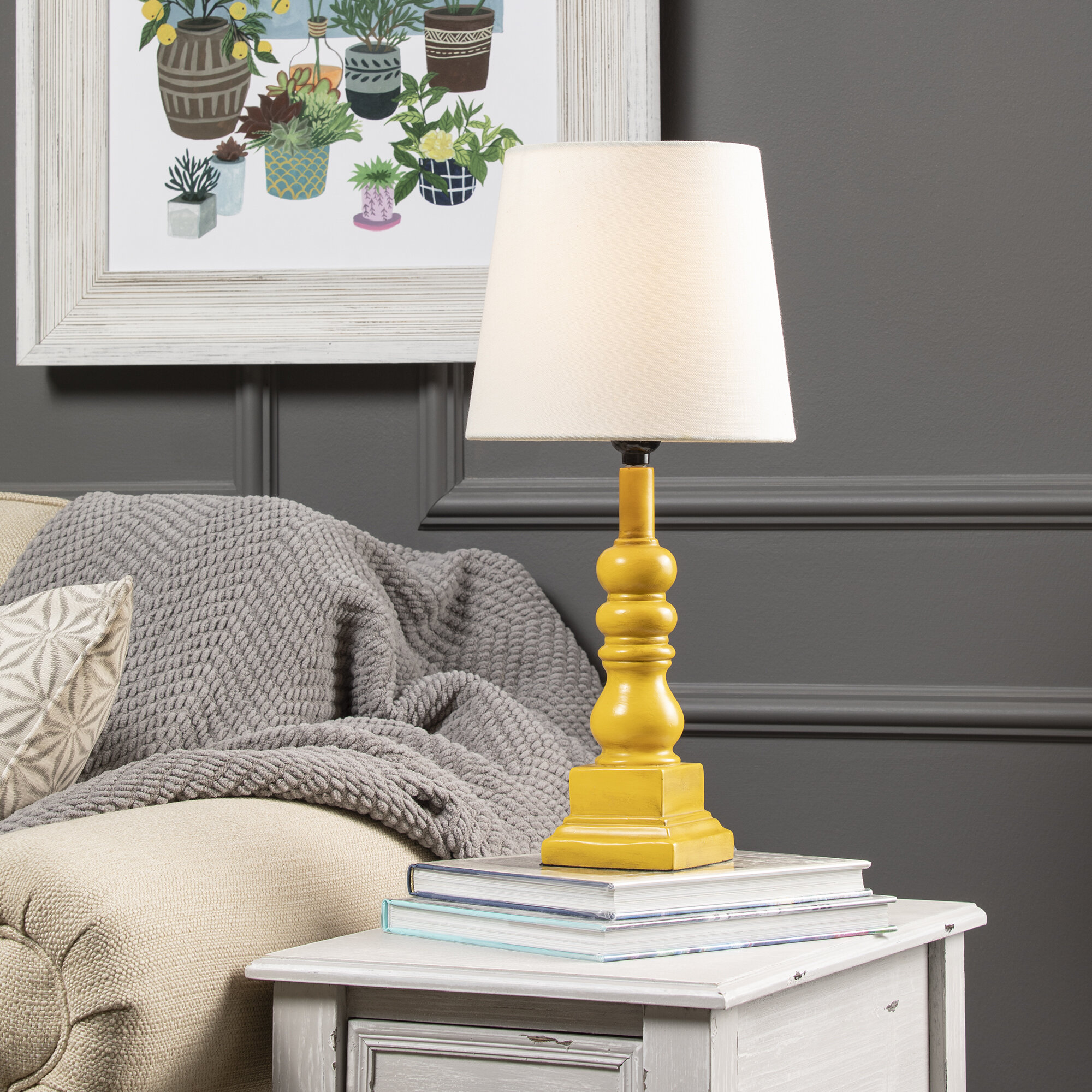 Yellow Table Lamps You Ll Love In 2021 Wayfair