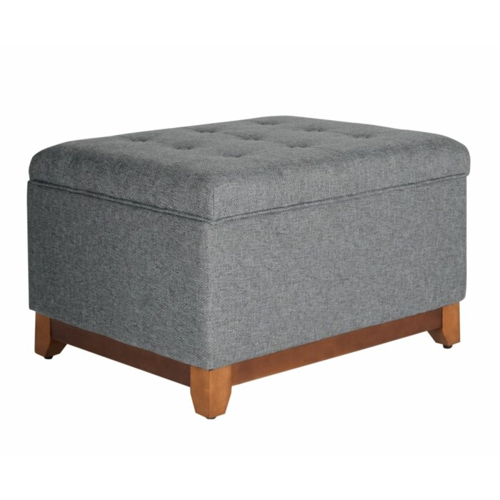 Brilliant Lewes Tufted Storage Ottoman Gmtry Best Dining Table And Chair Ideas Images Gmtryco