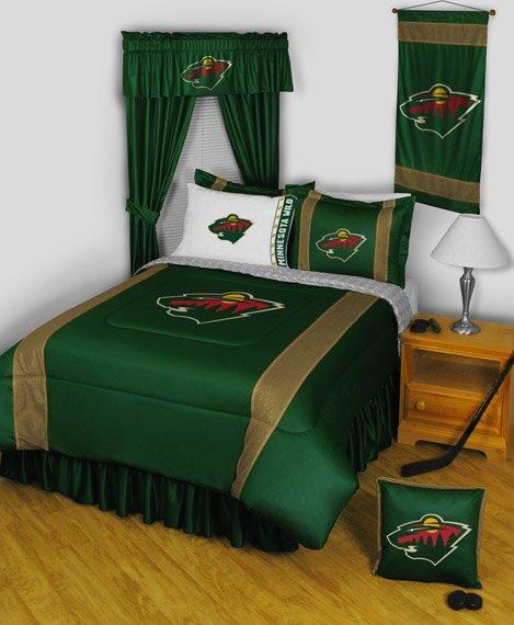 "NHL Minnesota Wild 88"" Curtain Valance"