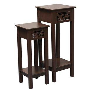Price Check Gilmartin 2 Piece Nesting Telephone Table Set ByAugust Grove