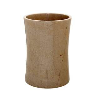 Fleur De Lis Living Root Stone 1.5 Gallon Waste Basket