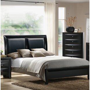 Vanleuven Upholstered Sleigh Bed by Red Barrel Studio