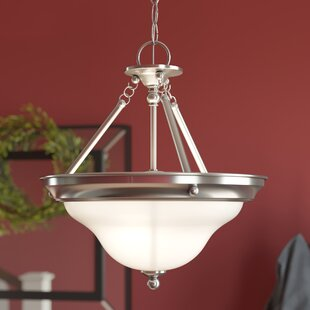 Three Posts Darmstadt 1-Light Bowl Pendant