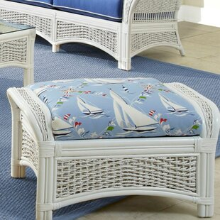 Spice Islands Wicker Regatta Ottoman