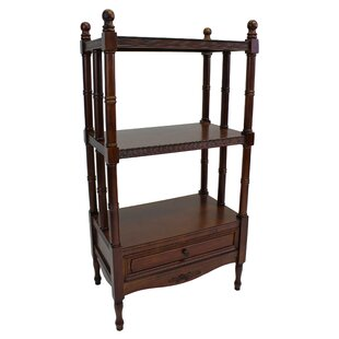 Read Reviews Betty Etagere Bookcase by Astoria Grand