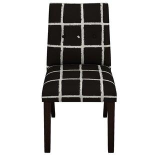 Brayden Studio Studdard Jet Button Tapered Side Chair