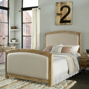 Loggins Upholstered Panel Bed by Loon Peak