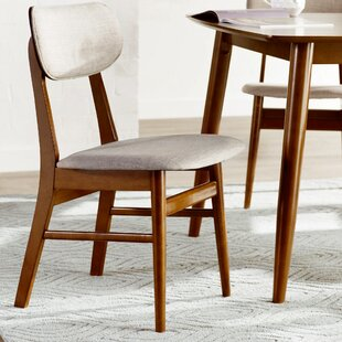 Mercury Row Leavell Upholstered Dining Chair (Set of 2)