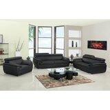 Kituku Captivating 3 Piece Standard Living Room Set by Red Barrel Studio®