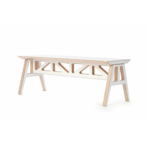 Truss A Frame Birch Bench by Context Furniture