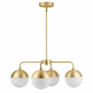 Linea Lighting Novara 4-Light Shaded Chandelier