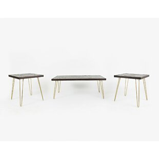 Arruda 3 Piece Coffee Table Set (Set of 3)
