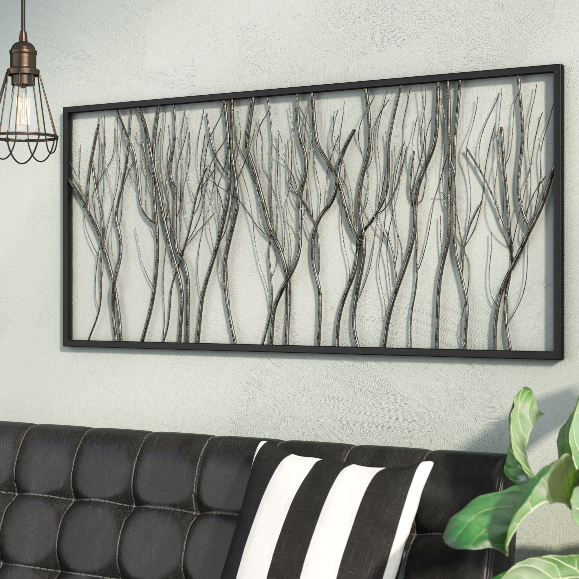 Wayfair   Black Metal Wall Accents You'll Love in 20