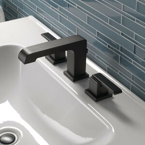 Deck Mounted Bathroom Faucet and Diamond Seal Technology