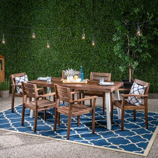 Loren Patio 7 Piece Dining Set