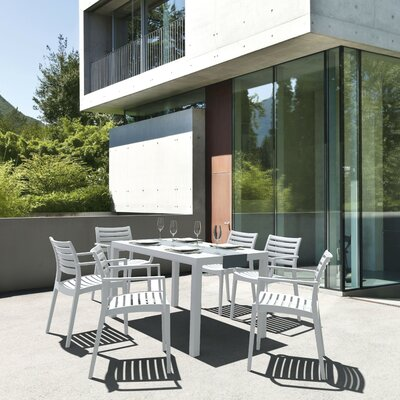 Melissus 7 Piece Dining Set by Mercury Row Best
