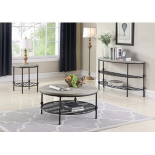 Connor 3 Piece Coffee Table Set Foundry Select