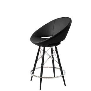 Hedgepeth Dowel 24 Bar Stool by Orren Ellis Modern