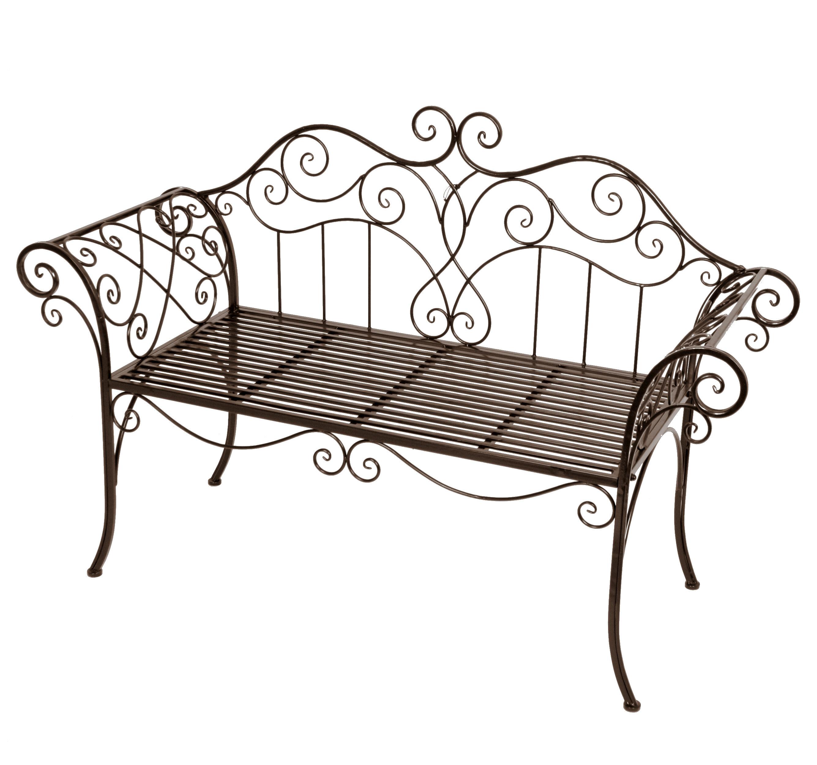 Miraculous Viva La France 2 Seater Steel Garden Bench Beatyapartments Chair Design Images Beatyapartmentscom