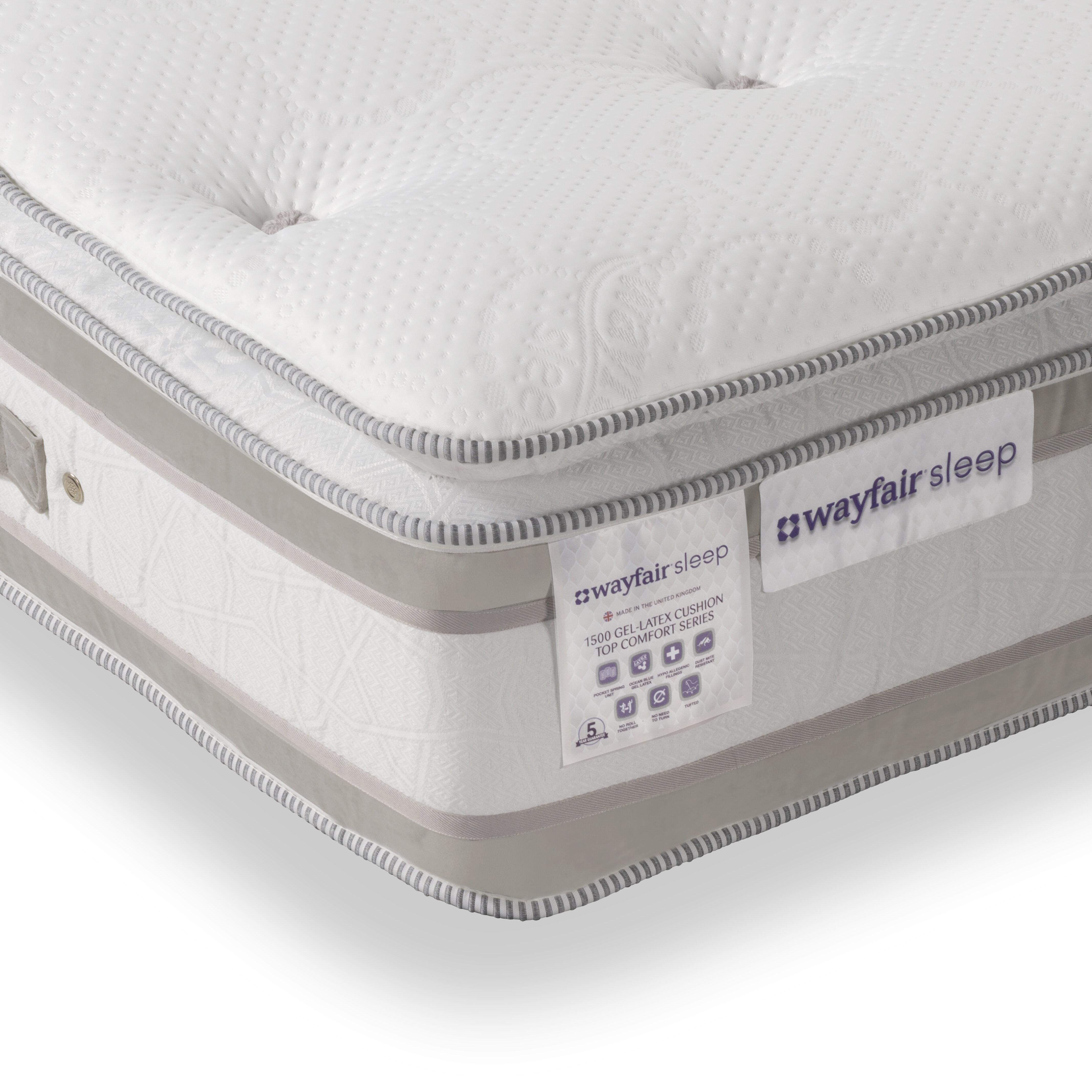 Pillow Top Pocket Memory 1500 Mattress