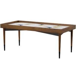 Posner Coffee Table with Tray Top by Mercury Row