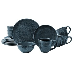 Kain 16 Piece Dinnerware Set, Service for 4