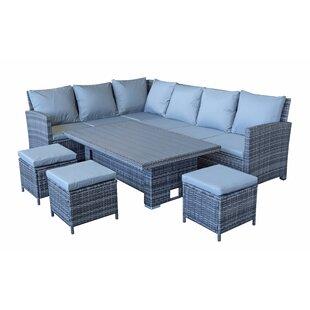 Brungardt 9 Seater Rattan Corner Sofa Set By Sol 72 Outdoor