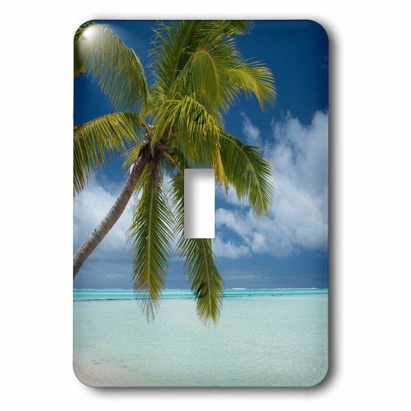 3drose Tropical Sand Beach 1 Gang Toggle Light Switch Wall Plate Wayfair