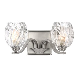 Louisbourg 2-Light Bath Vanity Light By Lark Manor Wall Lights