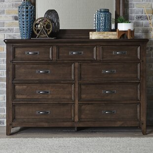 Best Earby 9 Drawer Standard Dresser by Canora Grey
