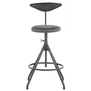 Dhrub Adjustable Height Swivel Bar Stool ..