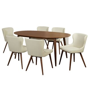 George Oliver West Line 7 Piece Dining Set