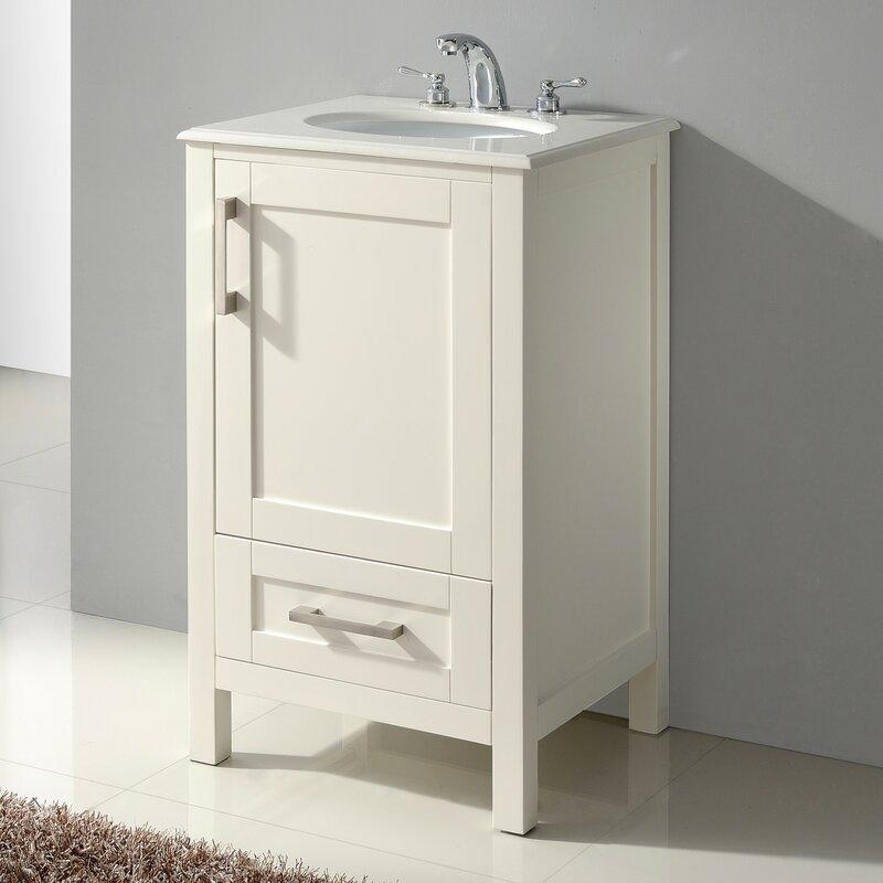 Charlton Home Ostby 21 Single Bathroom Vanity Set Reviews Wayfair