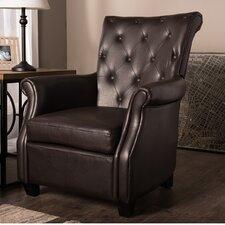 Verona Tufted Fabric Club Chair by Latitude Run