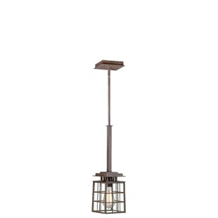 Dupras 1-Light Square/Rectangle Pendant by Williston Forge