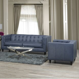 17 Stories Pranzal 2 Piece Living Room Set