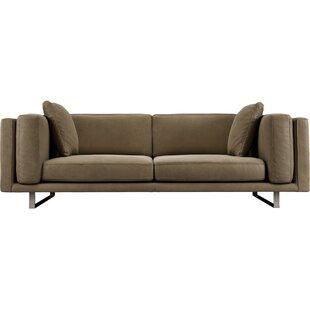 Modloft Fulton Top Grain Leather Sofa