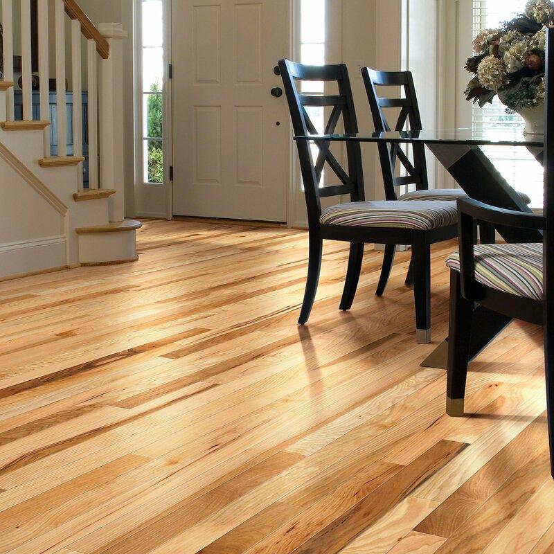 Shaw Floors Cambridge 2 14 Solid Hickory Hardwood Flooring