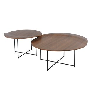 Lauzon 2 Piece Coffee Table Set