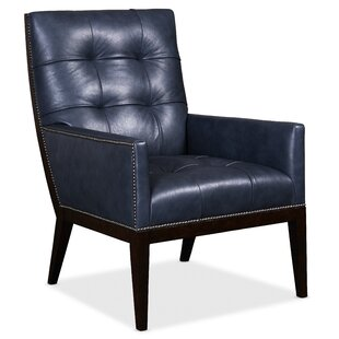 Basey Leather Club Chair by Hooker Furniture